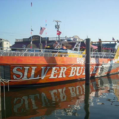The Silver Bullet boat
