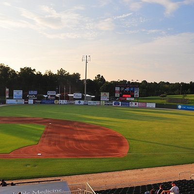 Fieldcrest Cannon Stadium - Home of the Kannapolis Intimidators - Class A South Atlantic League