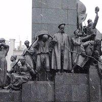 detail of Shevchenko monument