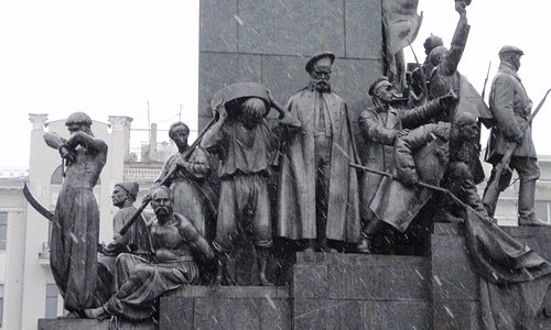 detail of Shevchenko monument