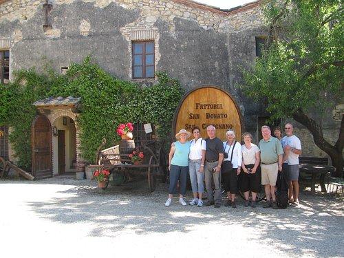Spring 2010 tour group.