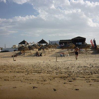 Ancora la spiaggia del Blanko