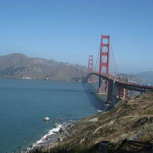 A Beautiful View of Golden Gate Bridge