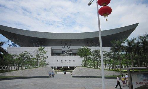深圳博物館の前景