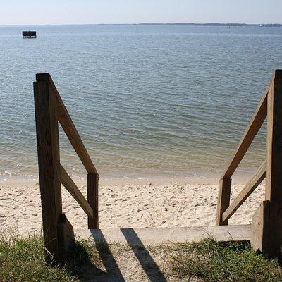 wading beach
