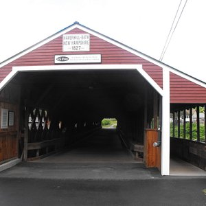 Haverhill-Bath Covered Bridge (NH # 27)