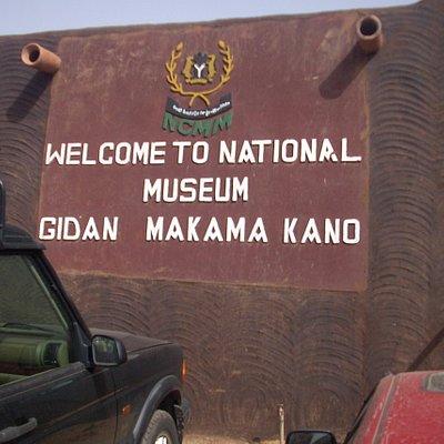 Entrance to Gidan Makama Museum