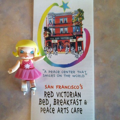 This is Molly at the Peace Cafe.  We loved the experience!