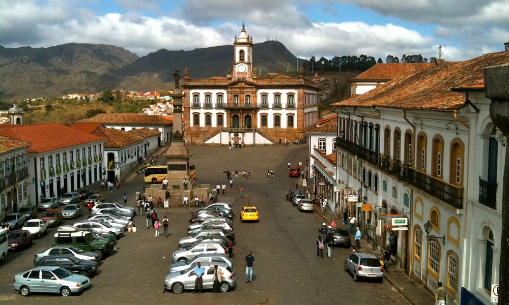 Praça Tiradentes in the centre