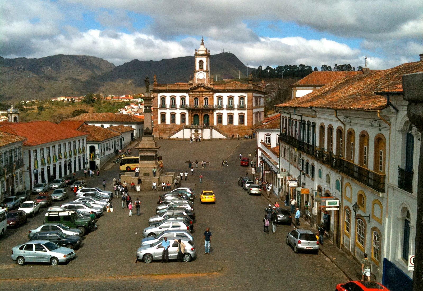Praça Tiradentes in the centre