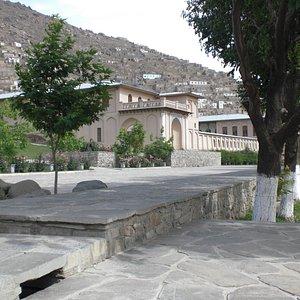 Beautiful reconstruction of palace