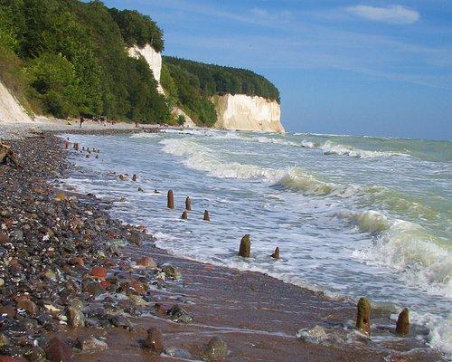 am Meer entlang