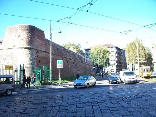 mura spagnole presso Porta Romana