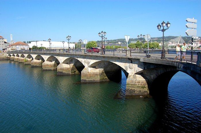 il fiume Lerez di Pontevedra