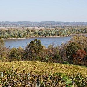 View from OakGlenn Winery