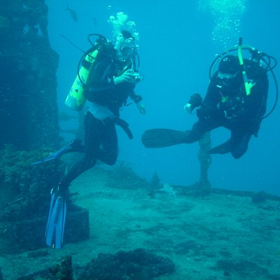 Diving on the Duane