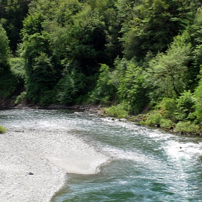 Illinois River, near Gold Beach Oregon
