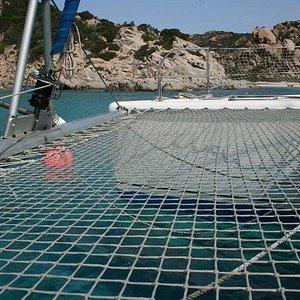 miguel catamaran in corsica