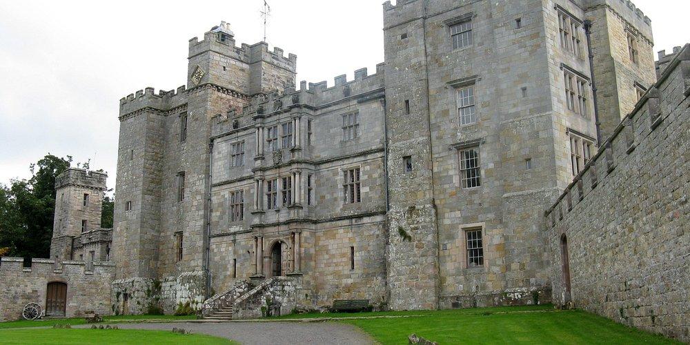 Chillingham Castle entrance