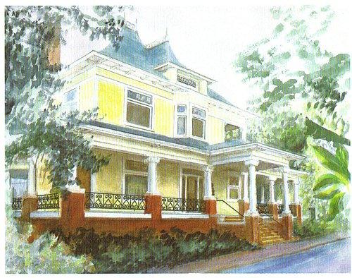 The Heard-Craig House, built in 1900.
