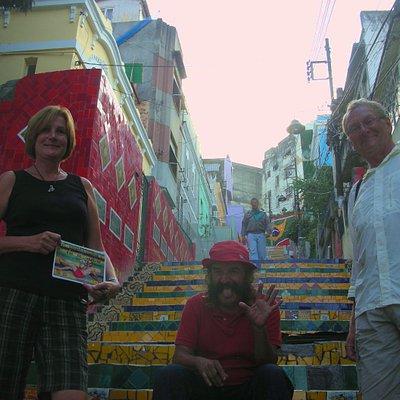 The Selaron Stairway Rio de Janeiro
