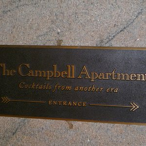 Plaque for The Campbell Apartment