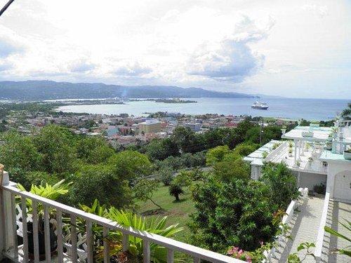 overlooking Montego Bay