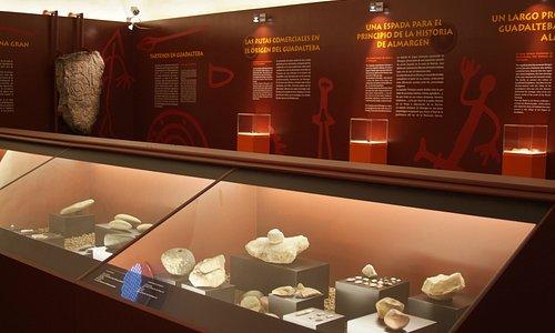 """Interior del Centro de Interpretación """"Tartessos en Guadalteba"""", Almargen (Málaga)"""