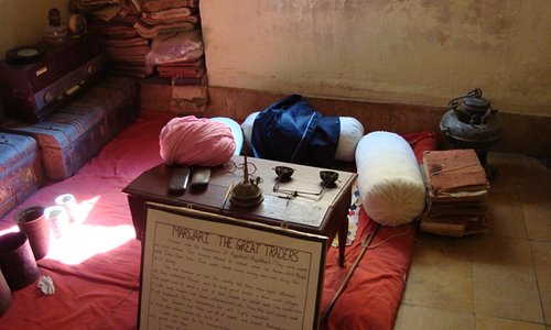 Typical marwari office of yesteryears