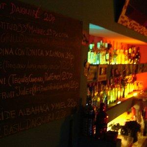 Flux bar - lots of great drinks