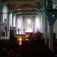 View inside the Engelse Kerk