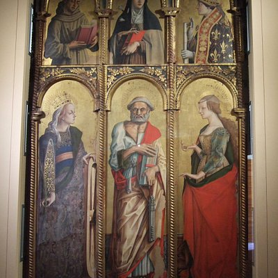 カルロ・クリヴェッリの多翼祭壇画