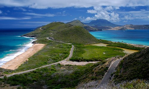A view of St Kitts and Nevis