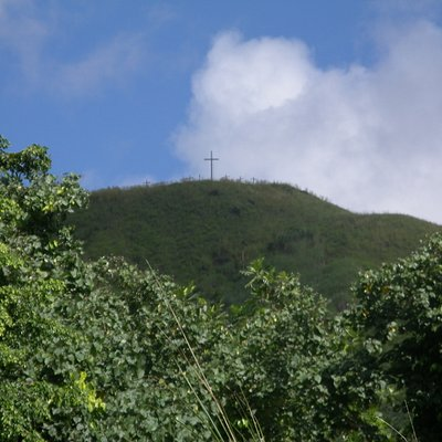 Crosses on the mountain