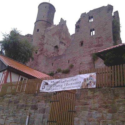 Burg Außenansicht