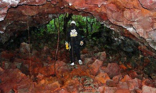 Lava tube entrance