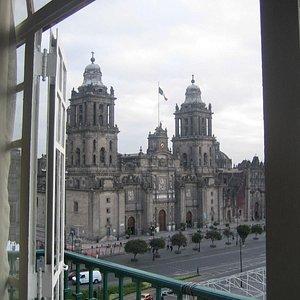 vistas desde el Hotel Magestic