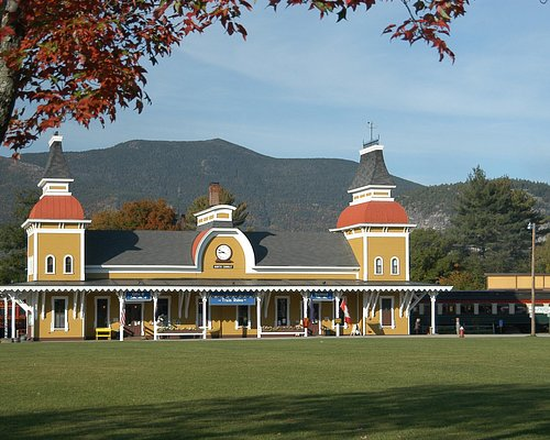 Our 1874 Station in North Conway Village