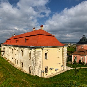 Zolochiv Castle: view from the rampart