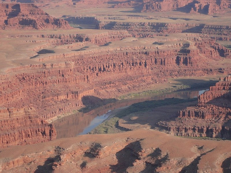 Aussicht auf den Colorado River am Dead Horse Point State Park