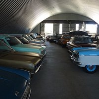 The huge collection of cars
