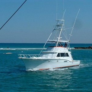 '53 Hatteras Fishing Boat. One of the nicest charter boats in South Florida.