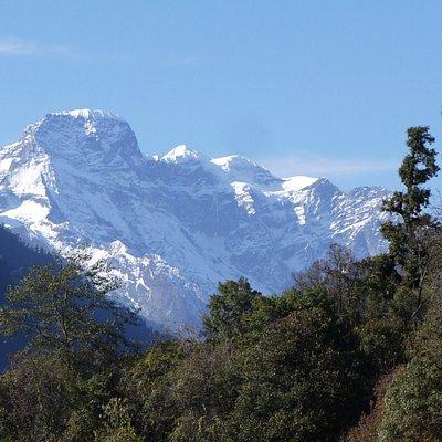 view of Kang Bhum, JDNP