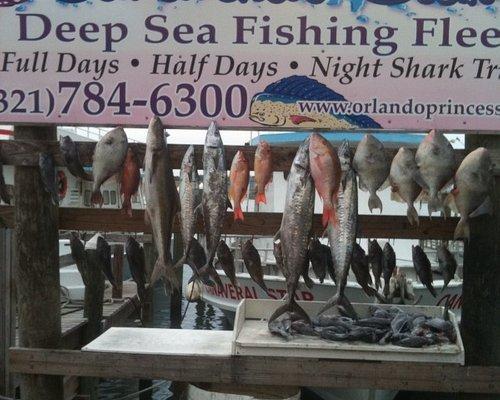 Fun fishing on the Orlando Princess