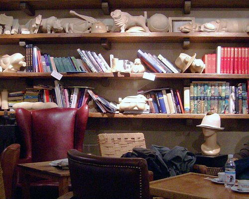 Café Bar Volume interior