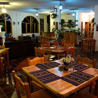 With wall hangings from Miguel Andrango and a warm, rustic ambiance, Cafe Pachamama is a great p