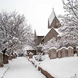 St Mary's Church, Sompting, Christmas 2010