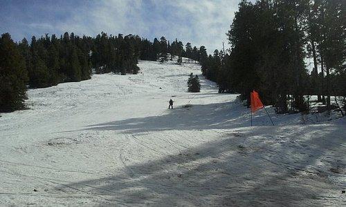 The ski hill.....