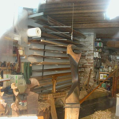 "The artisan's workshop for making the Gondolier's Rowlock or ""forcola"" – we would never have fou"