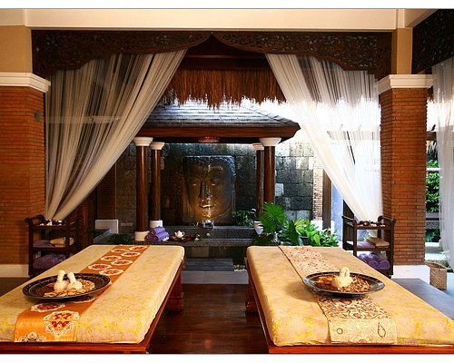 Inside the Tirta Spa Villa
